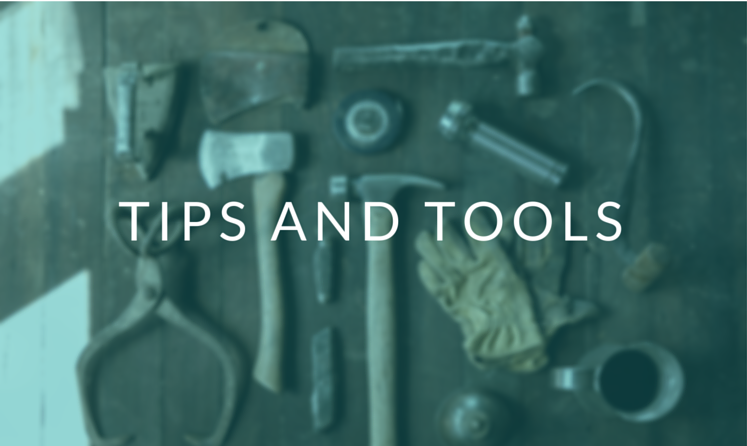 TIPS & TOOLS - Viewpoint Unlimited